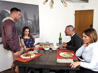 Kimmy Granger brings home her revolutionary BF to surrebutter with her stepmom Krissy Lynn